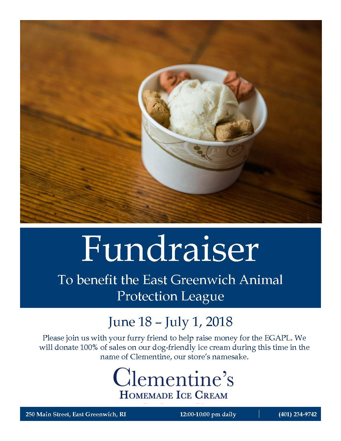 Clementines Fundraiser